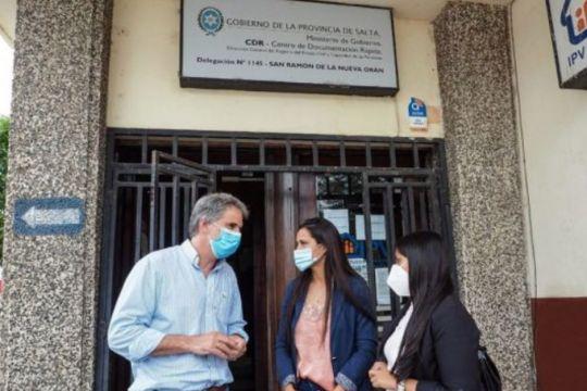 Habilitarán una oficina de Personas Jurídicas en Orán