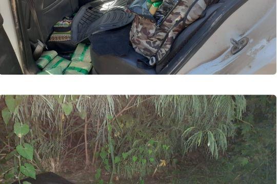 190 kilos de hojas de coca en dos procedimientos