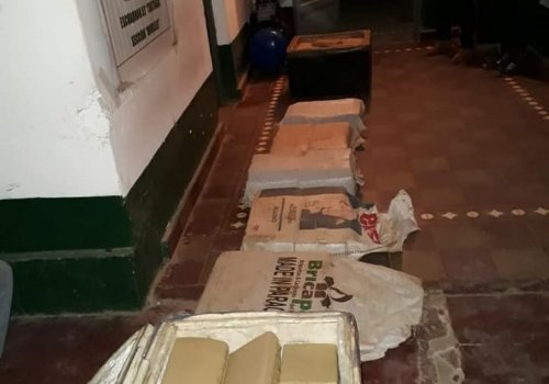 Narco heladeros detenidos