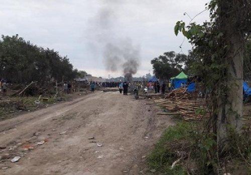 Dos Detenidos por los asentamientos