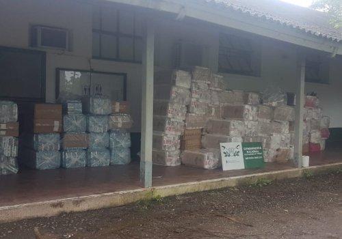 Mas de 7700 paquetes de cigarrillos Orán